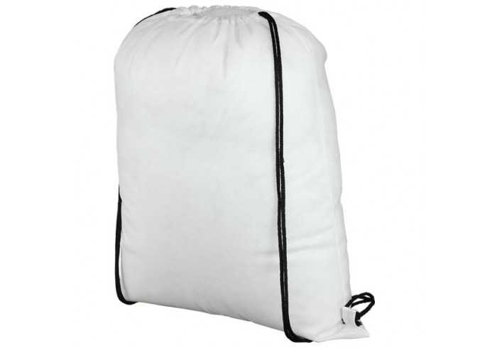 Bria Drawstring Bag - White