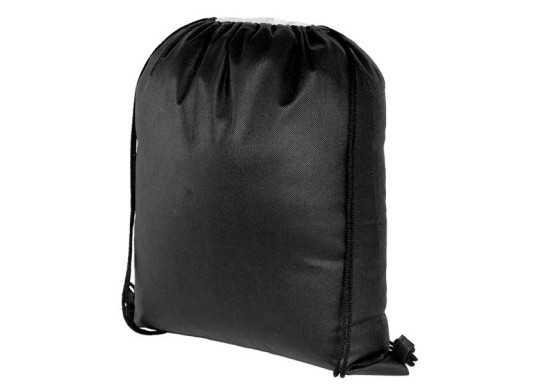 Bria Drawstring Bag - Black