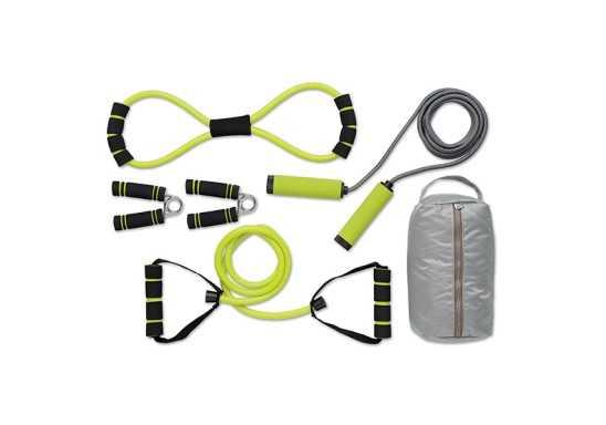 Get Active Gym Set - Silver