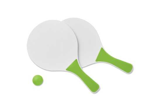 Mini Match Beach Tennis Set - Lime