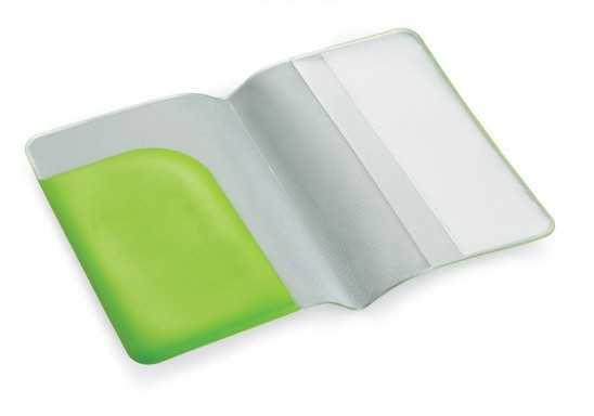 Budget Passport Holder - Lime