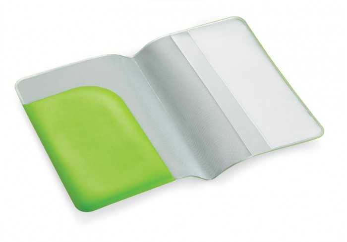 Budget Passport Holder - Lime