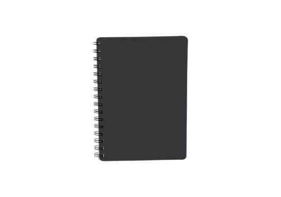 Reliable Spiral Bound Notebook A5 - Black