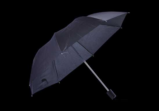 Mini Foldable Umbrella - Black