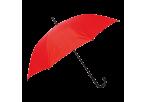 Auto Open Hook Umbrella - Red