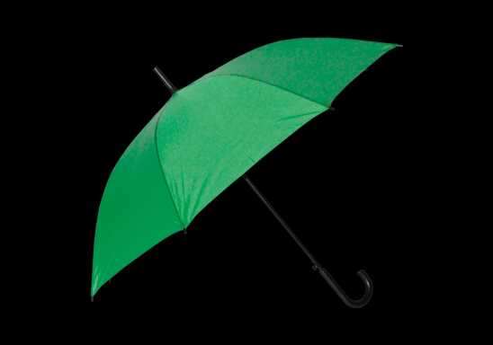 Auto Open Hook Umbrella - Green
