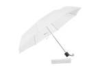 Foldable Umbrella With Metal Frame - White