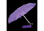 Foldable Umbrella With Metal Frame - Purple