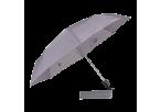 Foldable Umbrella With Metal Frame - Grey