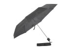 Foldable Umbrella With Metal Frame - Black