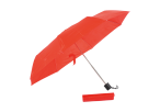 Foldable Umbrella With Metal Frame - Red
