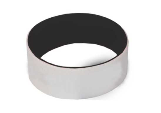 Engraved Silicone Band - Black