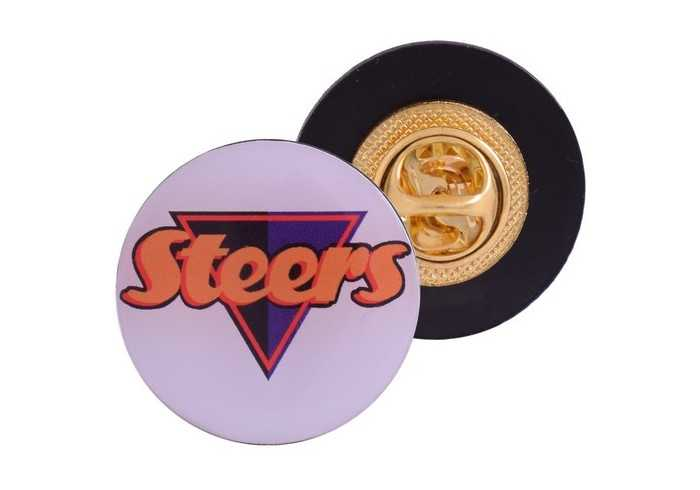 Lapel Badge - Pin Clip