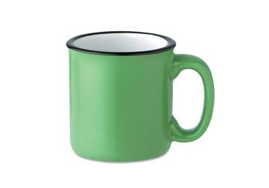 Vintage Mug - Green