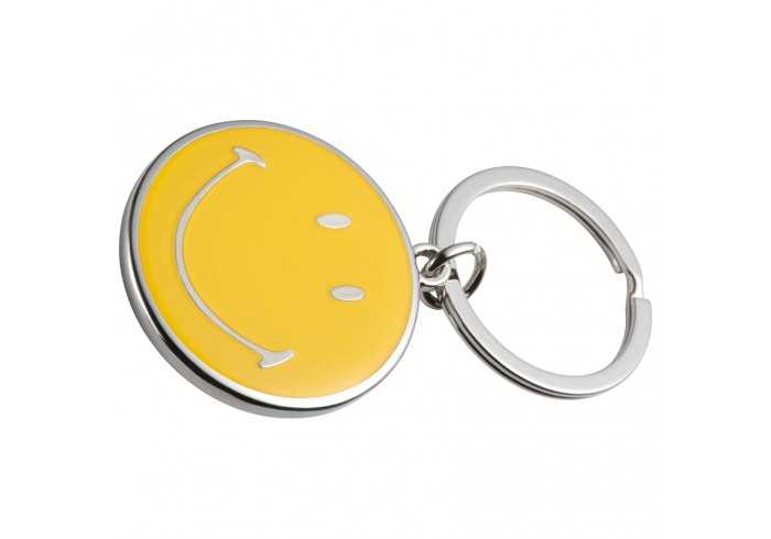 Smiley Face Key Ring