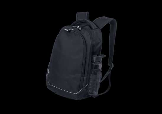 BRT Chrome Back Pack - Black