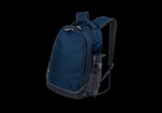 BRT Chrome Back Pack - Navy