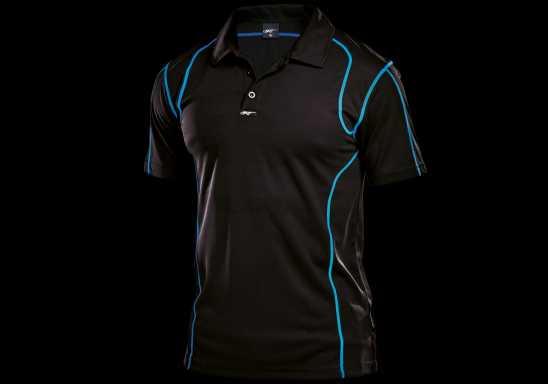 BRT Speedster Golf Shirt - Black