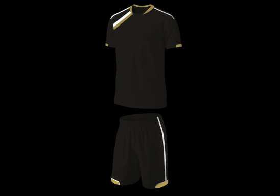 BRT Vierra Soccer Single Set - Black