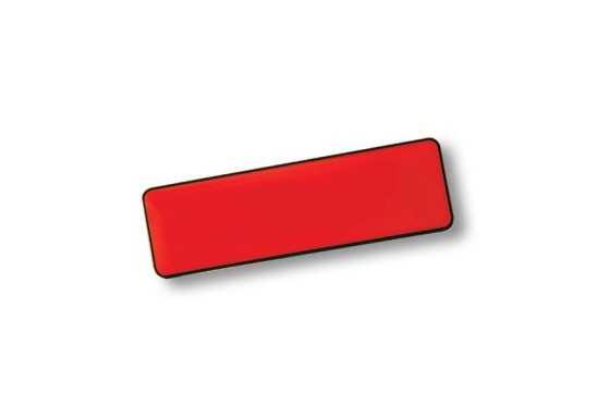 Rectangle Name Badge+Pin