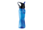 570ml Curved Body Water Bottle - Blue