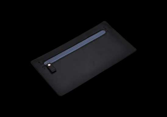 PVC Pencil Case - Black