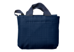 Foldable Shopper In Carry Bag - Blue