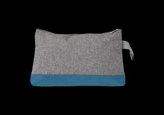Melange Toiletry Bag - Blue