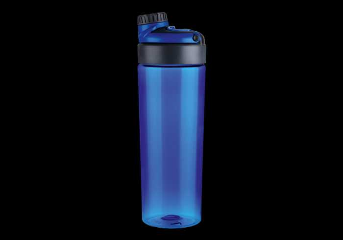 800ml Tritan Water Bottle With Carry Handle - Blue
