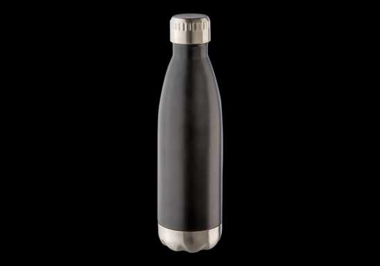 500ml Double Wall Vacuum Flask - Black