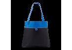 600D Shopper with Front Pocket -Blue