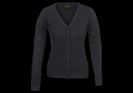 Ladies Kelsey Cardigan - Black