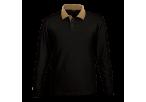 Archer Long Sleeve Golfer - Black