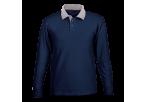 Archer Long Sleeve Golfer - Navy