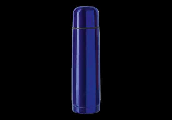 500ml Coloured Vacuum Flask - Blue