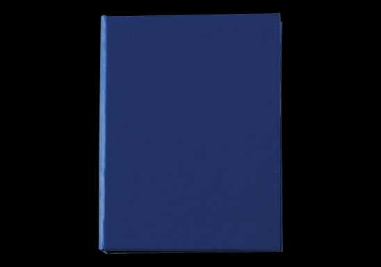 Card Case with Sticky Notes - Blue