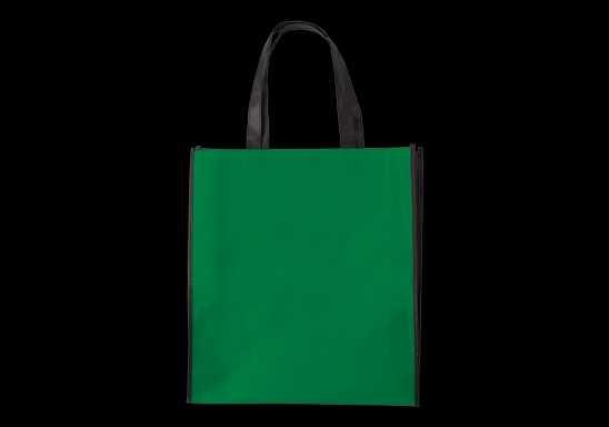 Duotone Non Woven Shopper - Green
