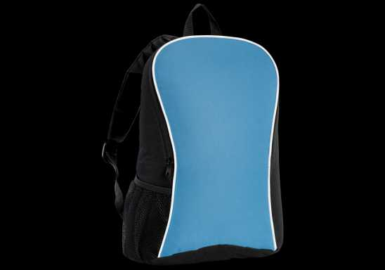 Curve and Arch Design Backpack - Tq