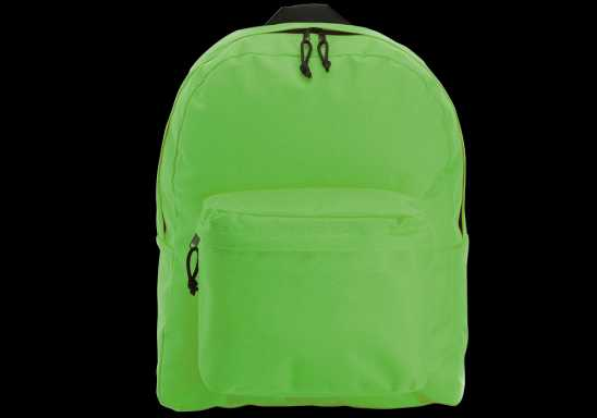 Arched Front Pocket Backpack  -Green