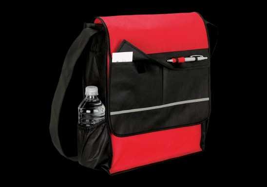 Messenger Bag - Non-Woven - Red