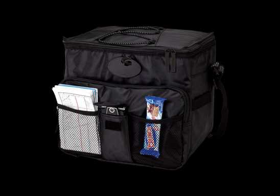 18 Can Cooler with 2 Front Mesh Pockets