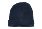 Ice Knitted Beanie - Navy