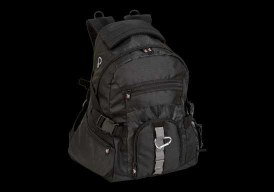 Mountaineer Backpack - Black