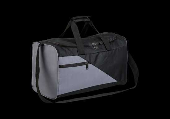 Diagonal Panel Sports Bag