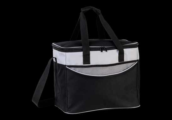 Extra Large Cooler With Front Pocket - Black