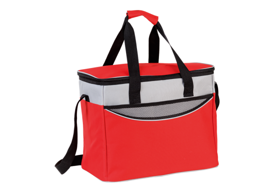 Extra Large Cooler With Front Pocket - Red