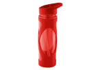 580ml Crisscross Grip Water Bottle - Red