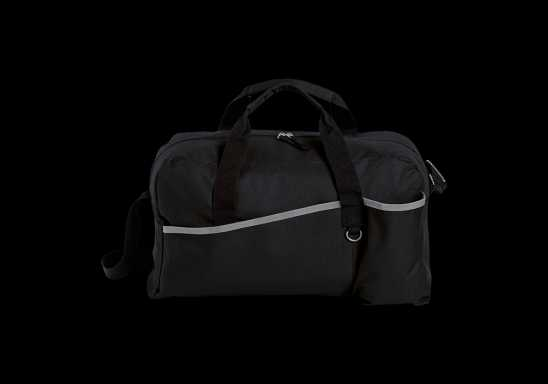 Sports Bag with Grey Trim