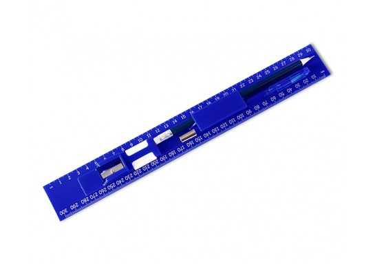 All-In Ruler Stationery Set - Blue