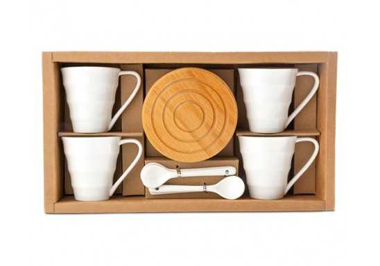 Walnut Espresso Set
